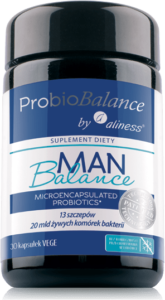 ProbioBALANCE, Man Balance 20 mld. x 30 vege caps.