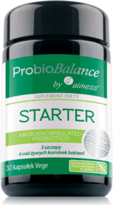 ProbioBALANCE, STARTER 4 mld. x 30 vege caps.